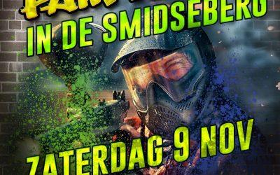 9 November paintballen in de Smidseberg
