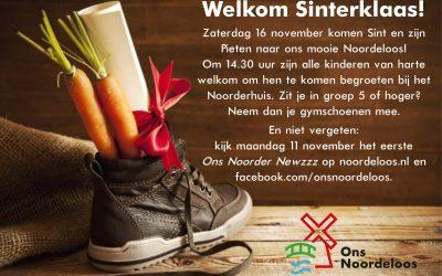 16 November Sinterklaas in Noordeloos