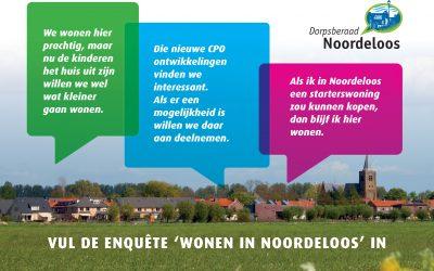 Enquête 'Wonen in Noordeloos'