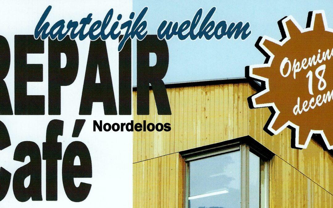 Foto's van de opening van Repair Café Noordeloos