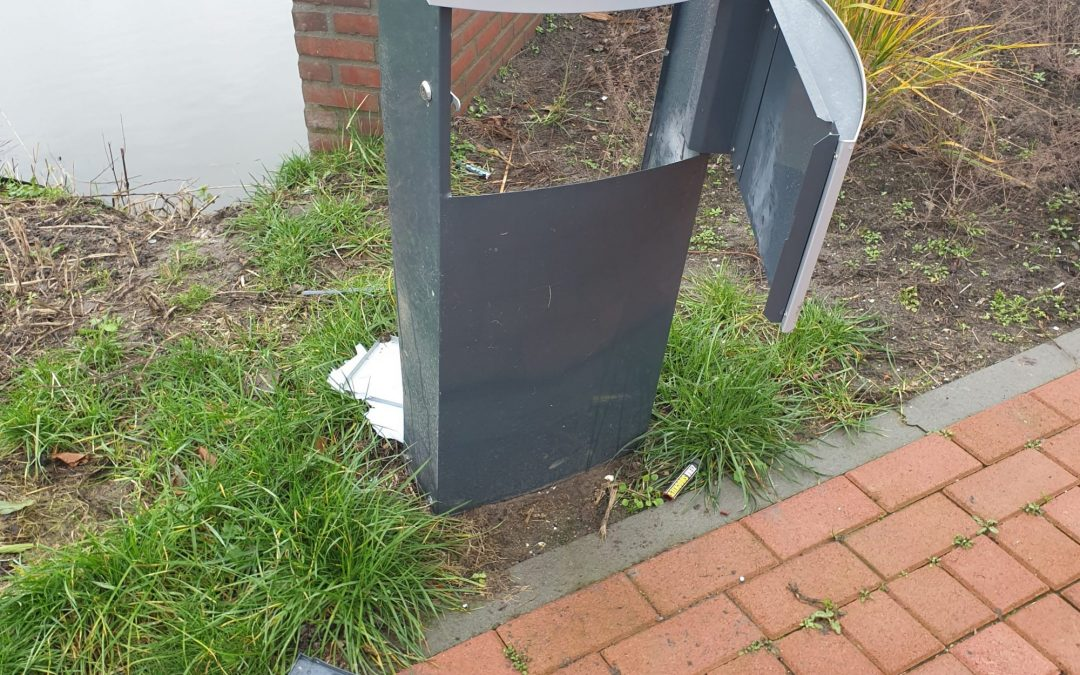 Schade brievenbus Noorderhuis