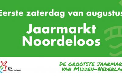 Geen jaarmarkt in Noordeloos in 2021