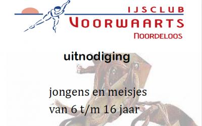 Schaatsen in Breda met IJsclub voorwaarts