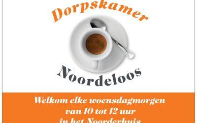 Geen activiteiten Dorpskamer t/m 31 maart