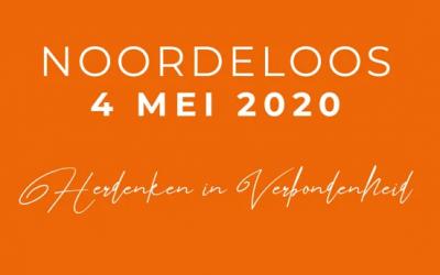 Noordeloos 4 mei herdenken in verbondenheid