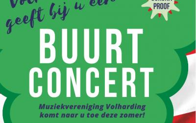 Buurt concert Volharding 25 juli