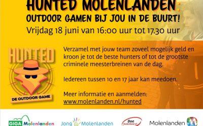 Hunted Molenlanden in Noordeloos op vrijdag 18 juni