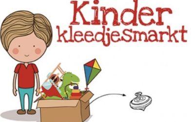 Kinderkleedjesmarkt zaterdag 7 augustus
